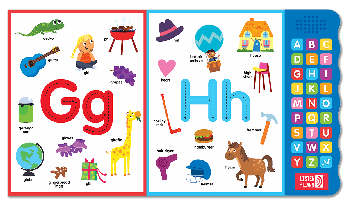 Let's Learn ABCs by Kidsbooks Publishing